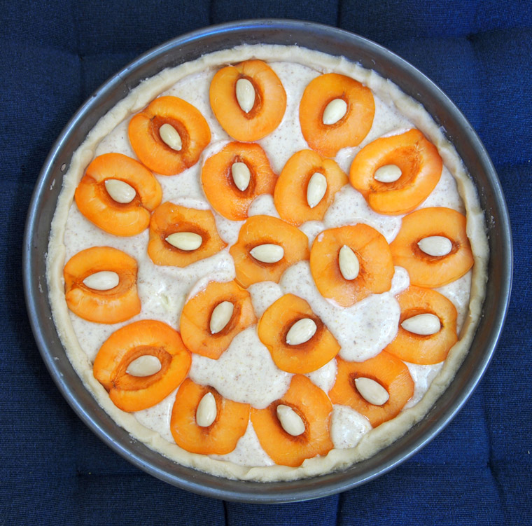 Almond Apricot Tart Step 5