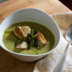 Roasted Asparagus Soup {Vegan}
