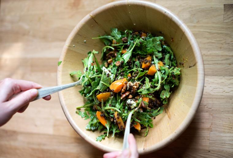 Apricot Lentil Salad