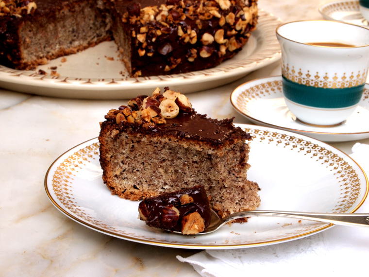 Flourless Chocolate Hazelnut Cake Earthy Feast