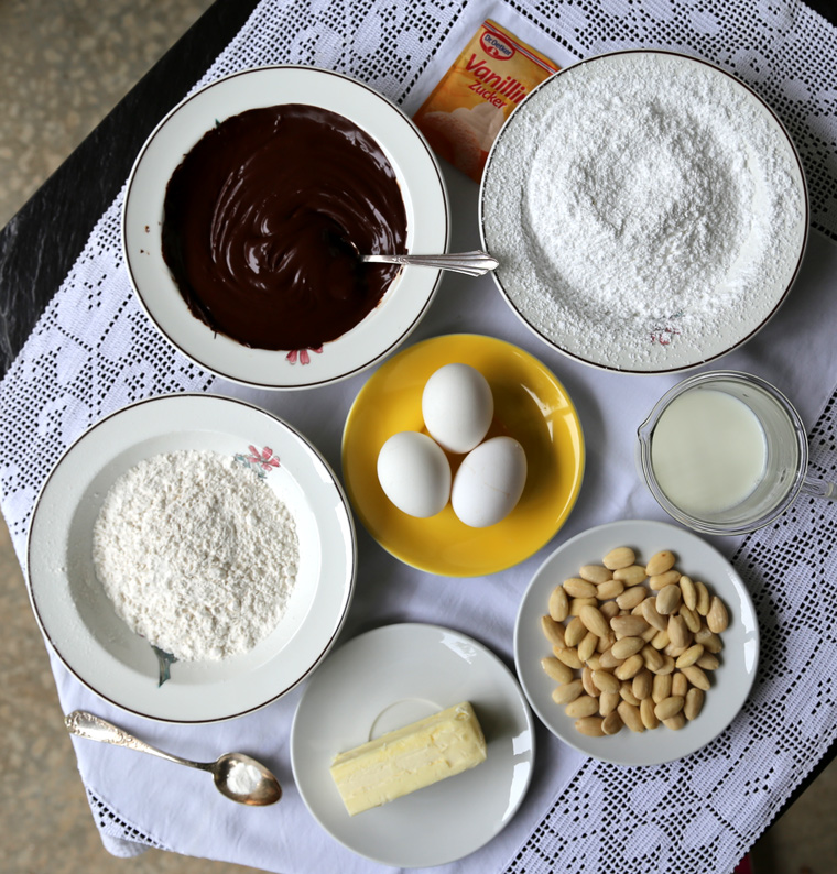Amandine au chocolat | Earthy Feast