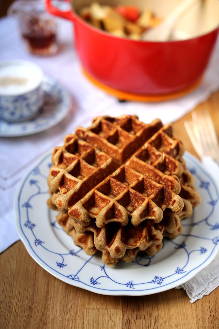 Apple Cider Waffles