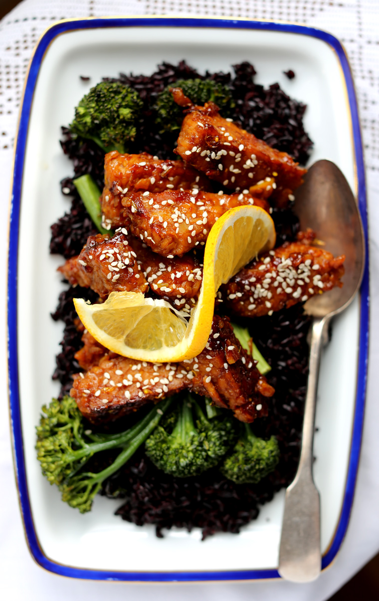 Orange Pan-glazed Tempeh Recipes — Dishmaps