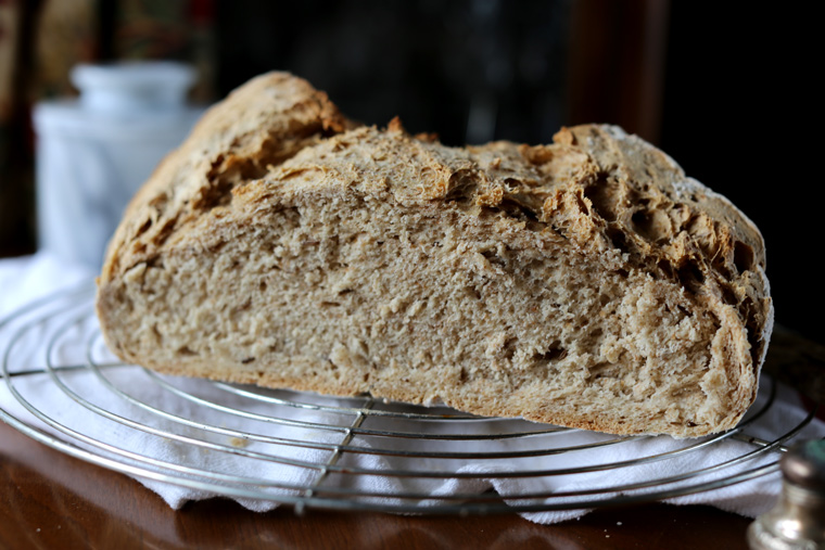 German Rye Bread with Caraway