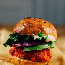 The 3 Ingredient Veggie Burger