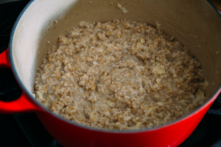 Savory Steel-Cut Oats