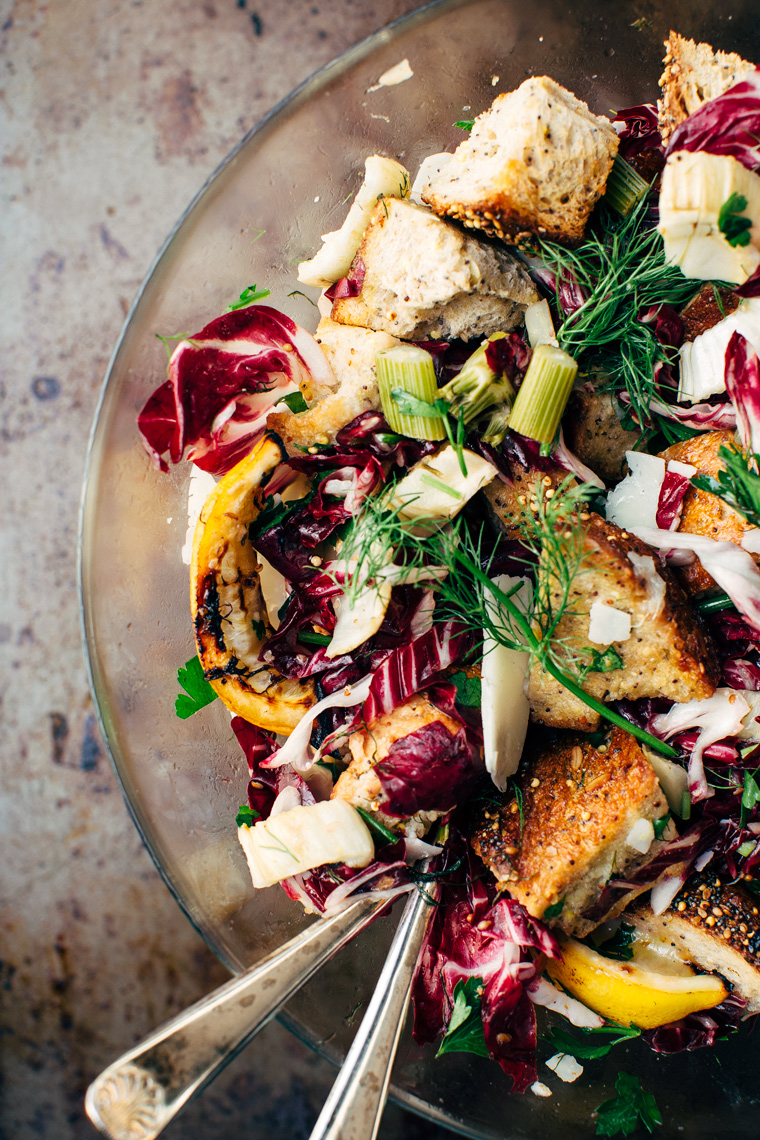 Roasted Fennel Panzanella