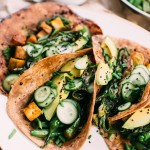 Funky Green Tacos