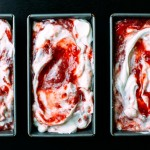 Sweet + Sour Strawberry Semifreddo