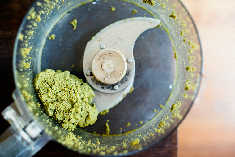 Pistachio + Thai Basil Ice Cream with Magic Shell [Vegan + Naturally Sweetened!]