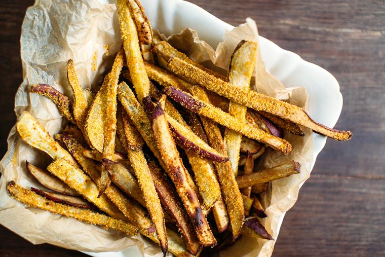 Loaded Bánh mì Sweet Potato Fries