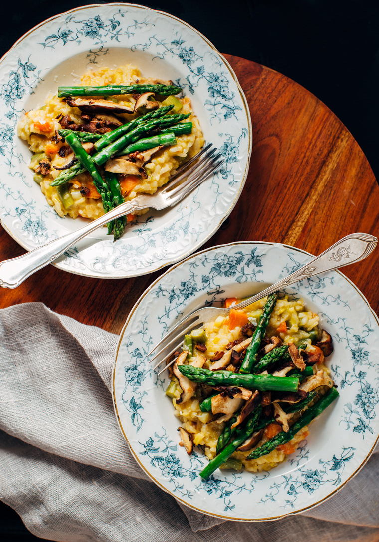 Spring Risotto with Asparagus