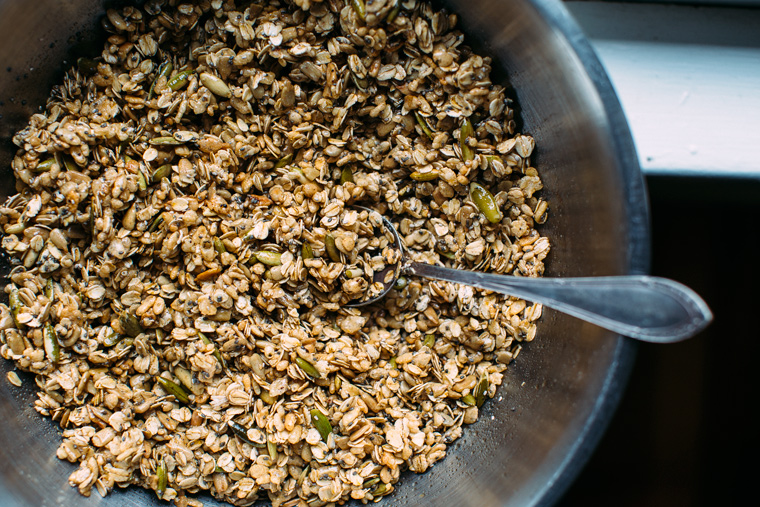 Super Seedy Granola