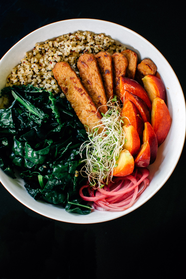 Miso Hippie Bowl with Tempeh