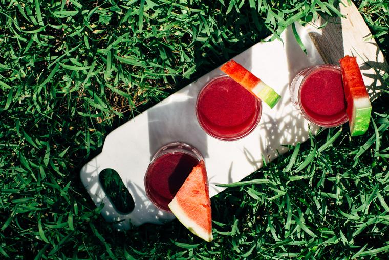 Watermelon Hibiscus Agua Fresca